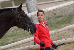 Halsterverbinding ruitersport paard Soft zwart en grijs - 693259