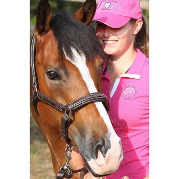 Licol équitation poney et cheval ROMEO cuir - 693262