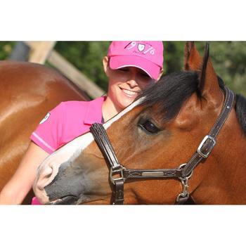 Licol équitation poney et cheval ROMEO cuir - 693263