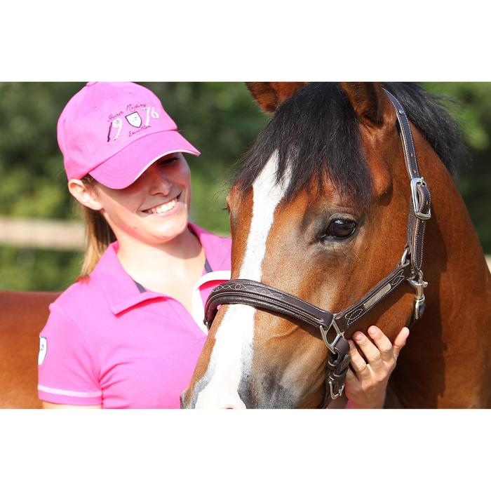 Licol équitation poney et cheval ROMEO cuir - 693265
