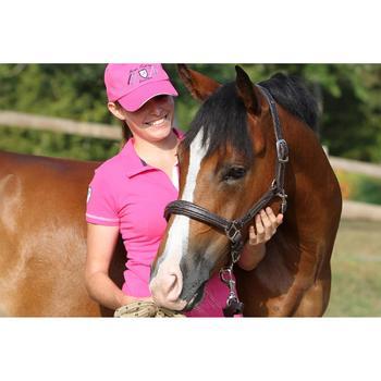 Licol équitation poney et cheval ROMEO cuir - 693266
