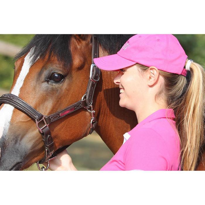 Leren halster voor pony en paard Romeo bruin