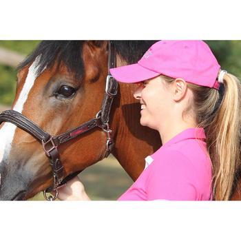 Licol équitation poney et cheval ROMEO cuir - 693267