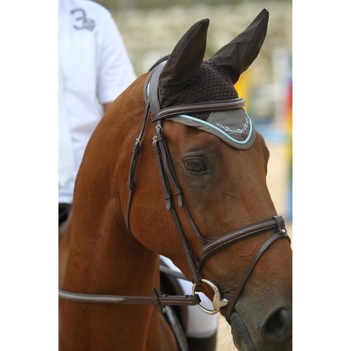 Filet + rênes équitation cheval et poney TINCKLE marron - 693270