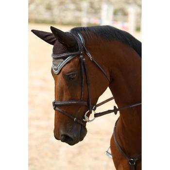 Filet + rênes équitation cheval et poney TINCKLE marron - 693273