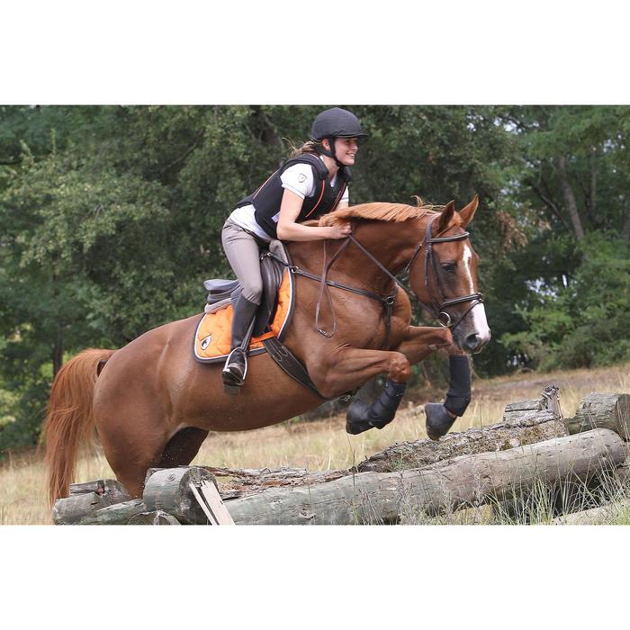 Filet + rênes équitation cheval et poney TINCKLE marron - 693275
