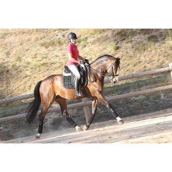 Set hoofdstel + teugels ruitersport Beauvalais zwart maat paard
