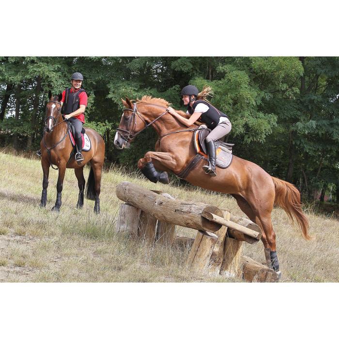2 guêtres intégrales équitation cheval NEOPRENE noir - 693302