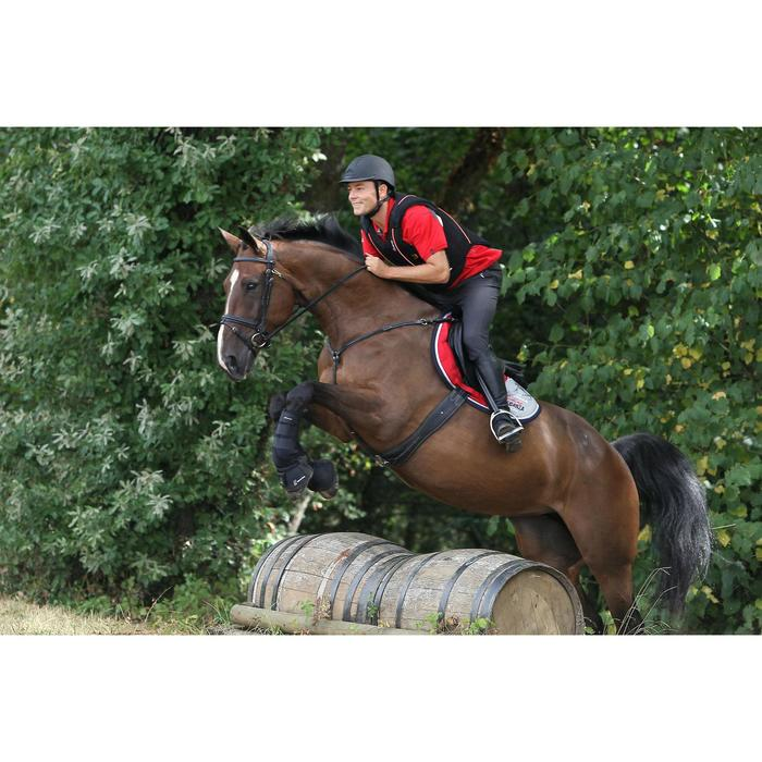 2 guêtres intégrales équitation cheval NEOPRENE noir - 693303