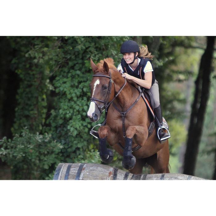 2 guêtres intégrales équitation cheval NEOPRENE noir - 693304