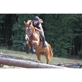 2 guêtres intégrales équitation cheval NEOPRENE noir - 693305