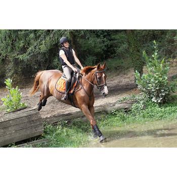 2 guêtres intégrales équitation cheval NEOPRENE noir - 693306