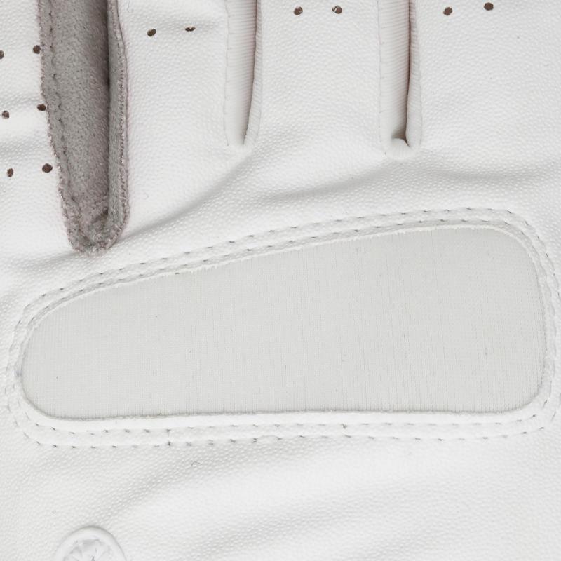 Adult & Junior Horse Riding Grippy Gloves White
