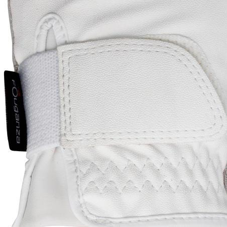 Grippy Women's Horse Riding Gloves - White