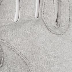 Handschoenen ruitersport dames Grippy wit