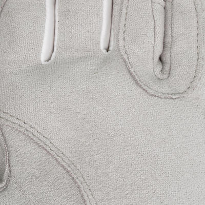Жіночі рукавички Grippy для кінного спорту - Білі