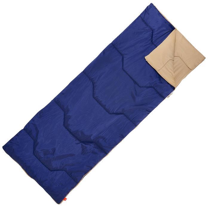 Campingschlafsack Arpenaz 20° blau