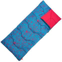 20°C兒童露營睡袋ARPENAZ - 藍色