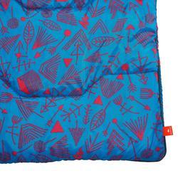 Arpenaz 20° slaapzak voor kinderen die kamperen - blauw