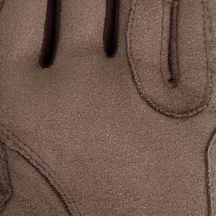 Paardrijhandschoenen GRIPPY voor volwassenen en kinderen ruitersport - 69381