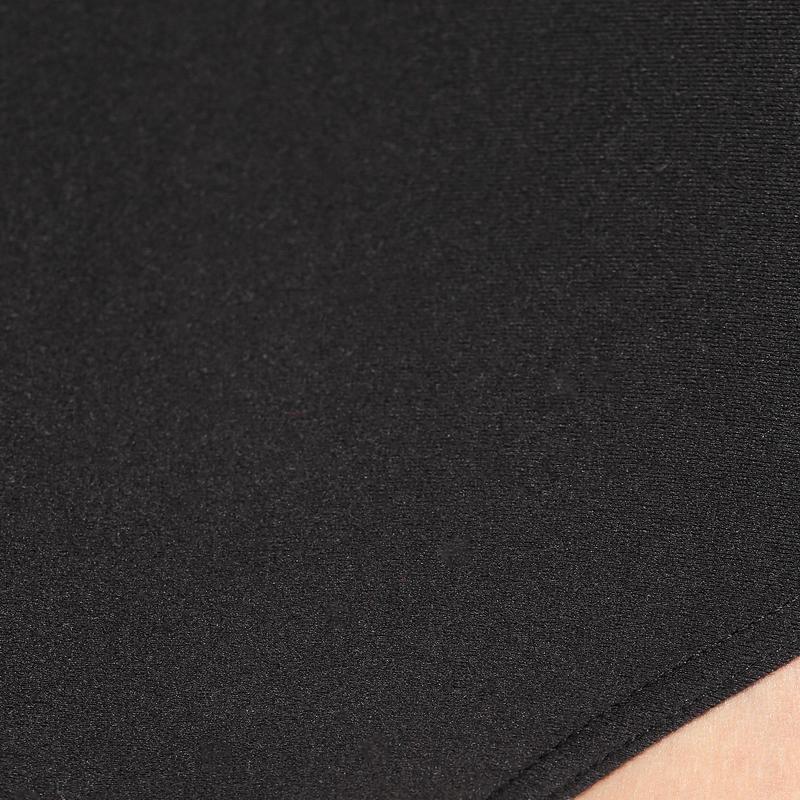Girls' Ballet Short-Sleeved Leotard - Black