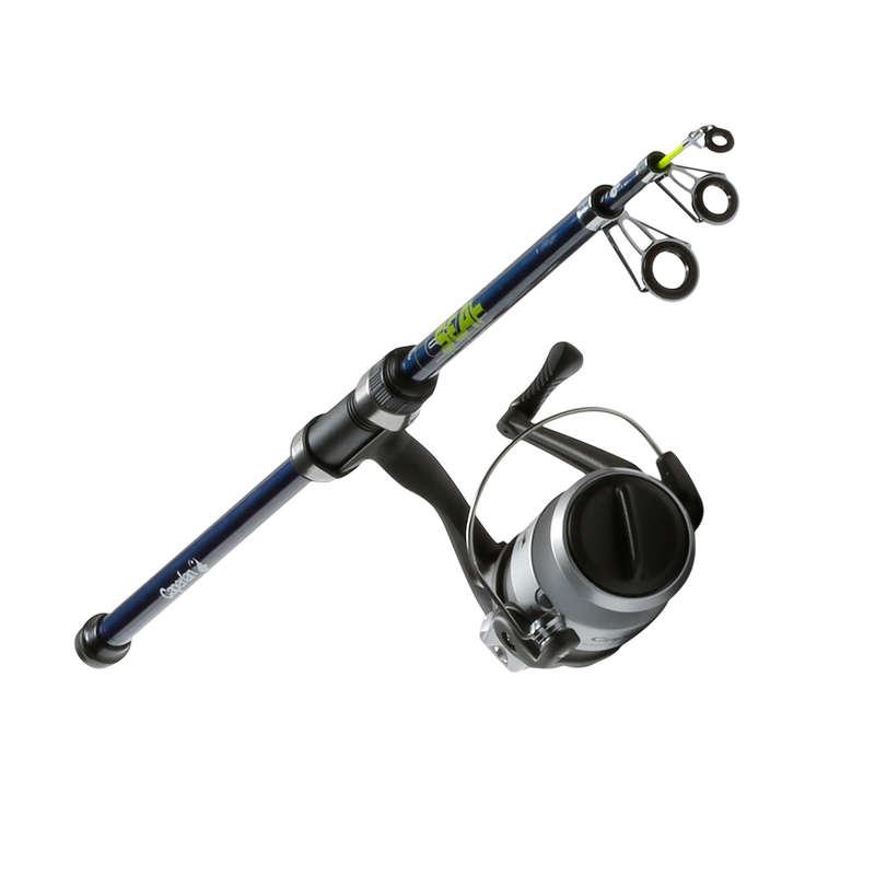 SW LIGHT BOTTOM FISHING COMBOS, RODS Fishing - Combo. SENSEATIP-1 TELESCO 130 CAPERLAN - Fishing
