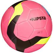 Balón de futbol Sunny 500 talla 5 rosa gris
