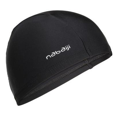 Текстильна шапочка для плавання - Чорна