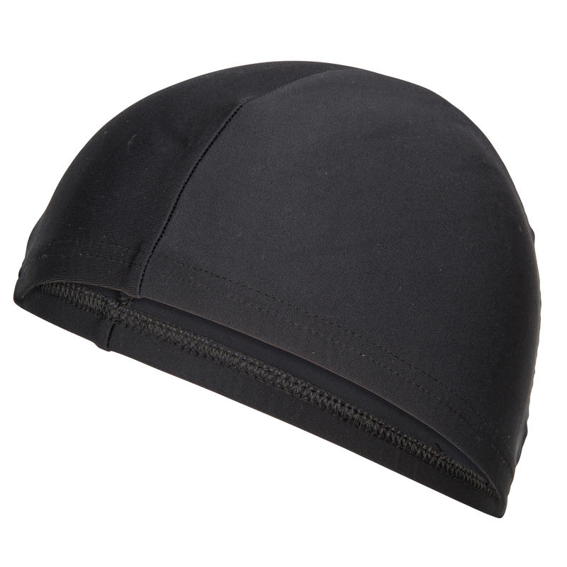 Swim Cap Mesh Size large - Black