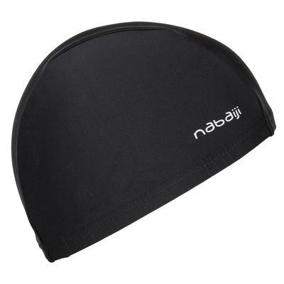 כובע שחייה מבד רשת - שחור