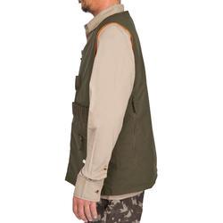 Omkeerbaar jagersvest Steppe 300 fluo/groen