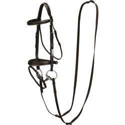 Hoofdstel + teugels ruitersport paard en pony Edimburgh