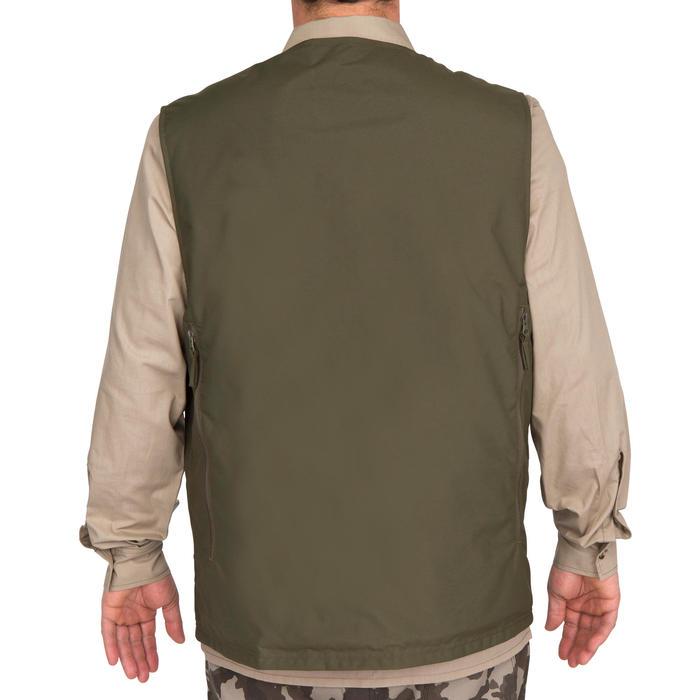 Omkeerbaar jagersvest Steppe 300 fluo - 69457