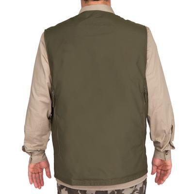 Жилет Steppe 300 для полювання, двосторонній - Флуоресцентний