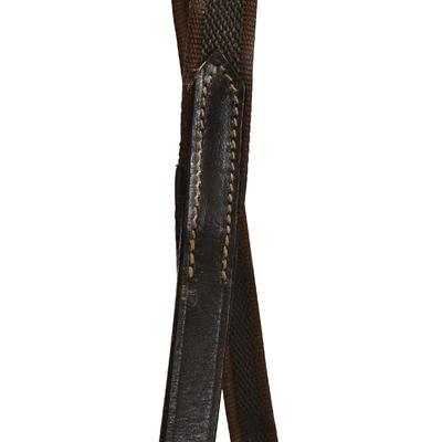 Filet + rênes équitation cheval et poney EDIMBURGH marron