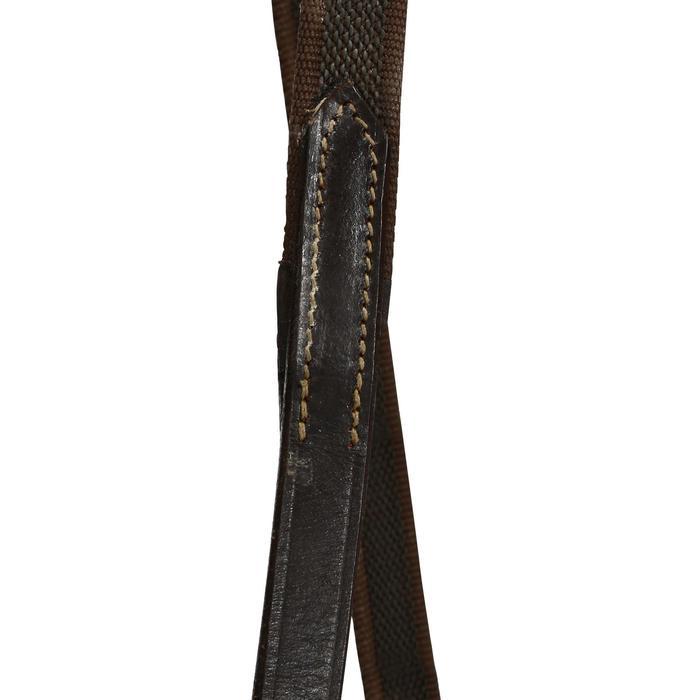 Filet + rênes équitation cheval et poney EDIMBURGH - 694573