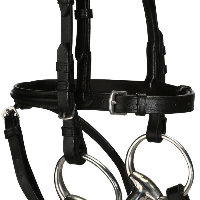Filet + rênes équitation STRASS noir -  cheval - 694596