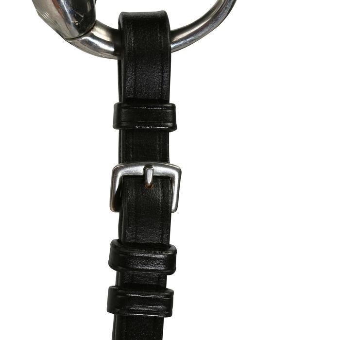 Filet + rênes équitation STRASS noir -  cheval - 694599
