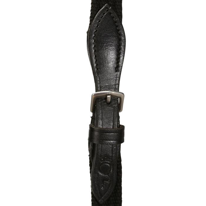 Filet + rênes équitation STRASS noir -  cheval - 694601