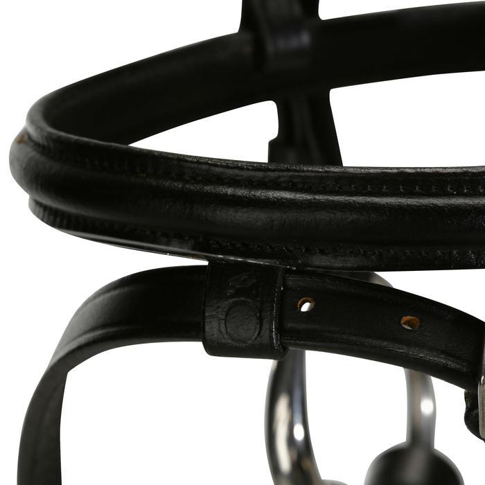 Filet + rênes équitation STRASS noir -  cheval - 694602
