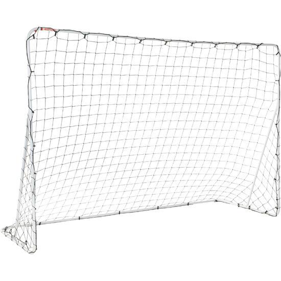 Voetbaldoeltje Basic Goal maat L wit - 694613