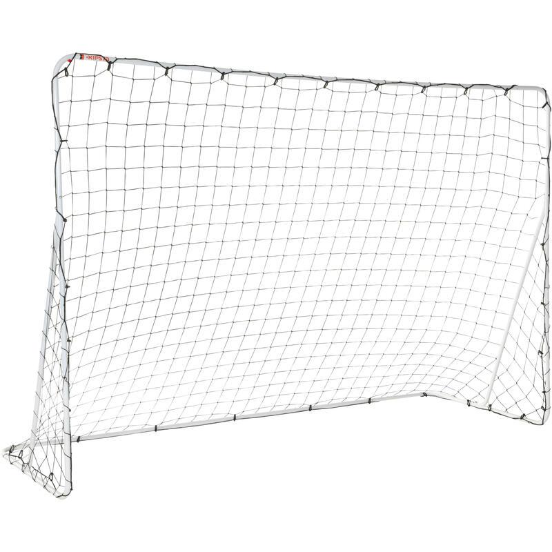 Portería de Fútbol Kipsta Basic Goal talla L blanco