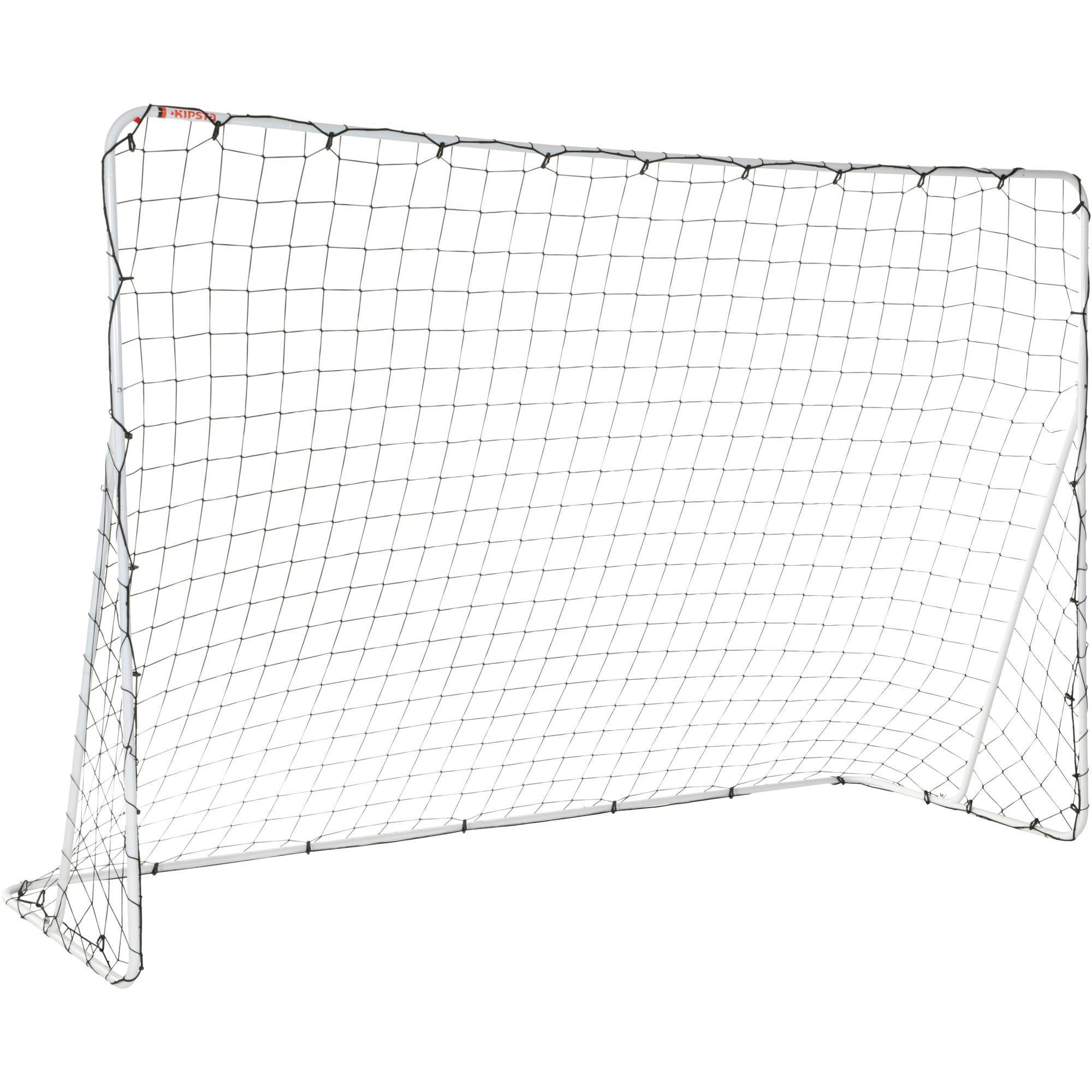 Kipsta Voetbaldoel Basic Goal FGO 100 maat L 3x2 m wit
