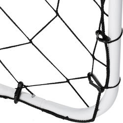 Voetbaldoeltje Basic Goal maat L wit - 694614