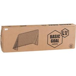 Voetbaldoeltje Basic Goal maat L wit - 694619
