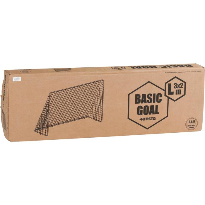 But de football Basic Goal taille L blanc - 694619