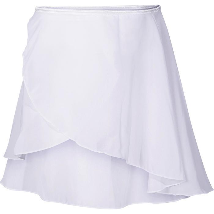 Jupette de Danse classique LUCIA fille blanche - 694647
