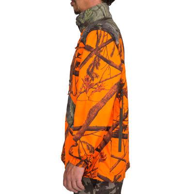 Куртка Steppe 100 для полювання - Неоновий камуфляж