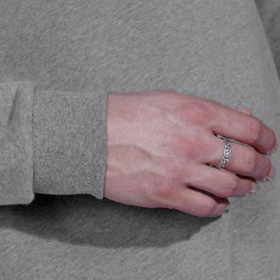 Crew Neck Gentle Gym Pilates Sweatshirt - Mottled Grey