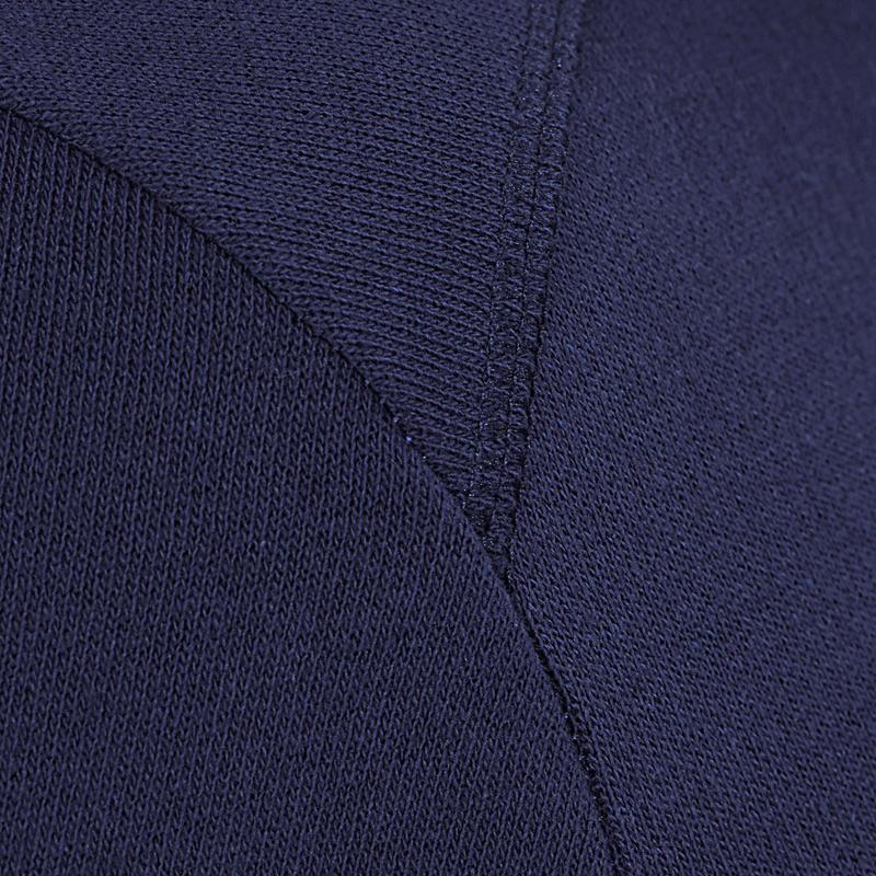 Crew Neck Gym & Pilates Sweatshirt - Navy Blue